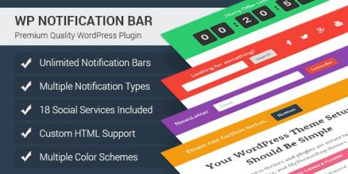 MyThemeShop – WP Notification Bar Pro