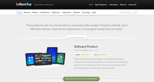 Elegant Themes – InReview