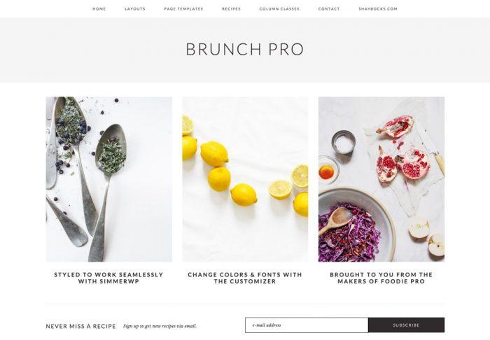StudioPress – Brunch Pro Theme