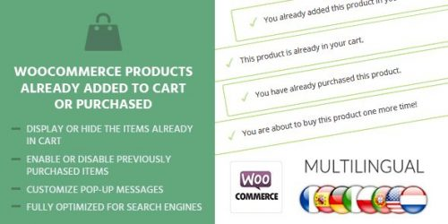 MyThemeShop – WooCommerce Products Already Added To Cart Or...