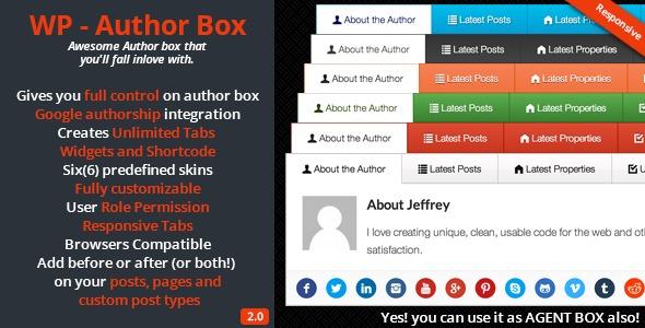 WP – Author Box