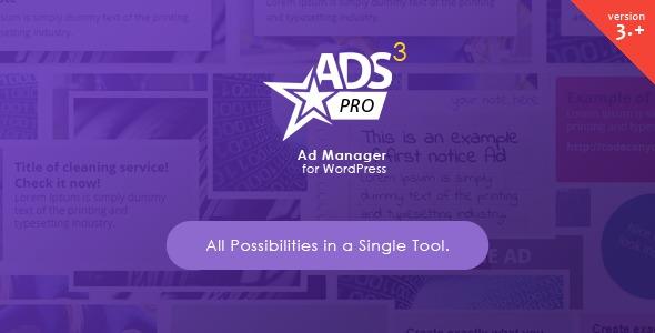Ads Pro Plugin – Multi-Purpose WordPress Advertising Manager