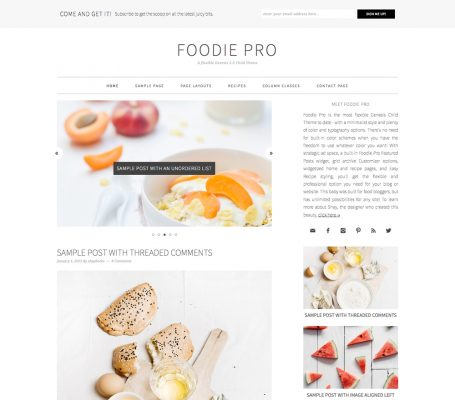 StudioPress – Foodie Pro