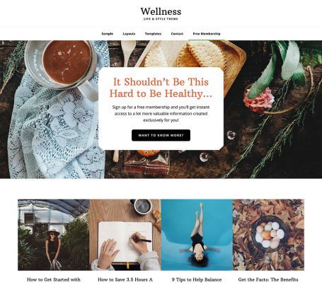 StudioPress – Wellness Pro