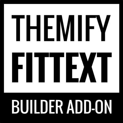 Themify – Builder FitText