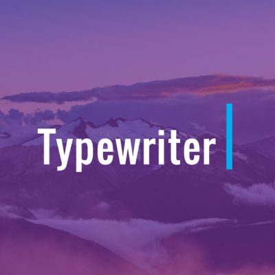 Themify – Builder Typewriter