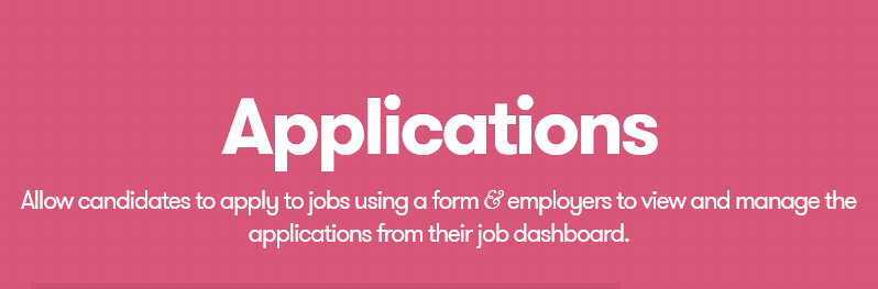 Nulled] WP Job Manager - Applications v2 4 3 - Null Club