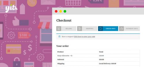 YITH – WooCommerce Multi-step Checkout Premium