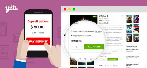 YITH – WooCommerce Deposits and Down Payments Premium