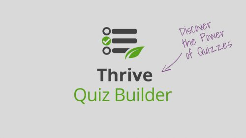 Thrive – Quiz Builder