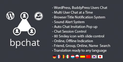 Nulled] WordPress BuddyPress Users Chat Plugin v1 1 6 - Null