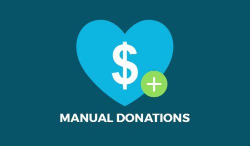 Give – Manual Donations