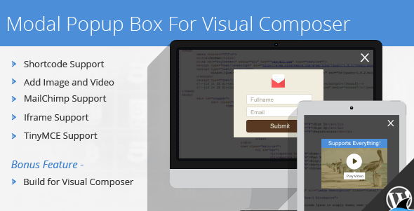 Modal Popup Box For WPBakery Page Builder – 1.4.8