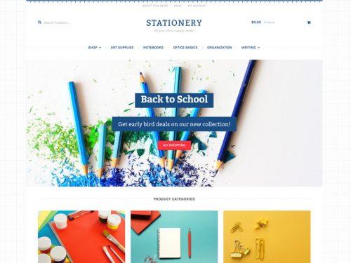 Storefront – Stationery