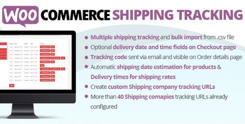 wordpress插件-WooCommerce Shipping Tracking 27.8