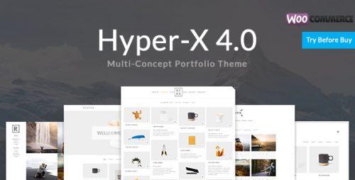 wordpress主题-HyperX Theme 4.9.9.1