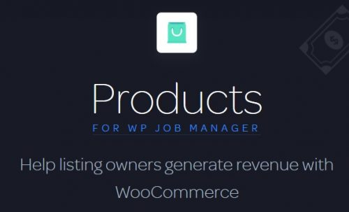 Products for WP Job Manager