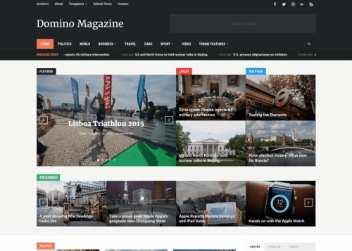 WPZOOM – Domino Magazine