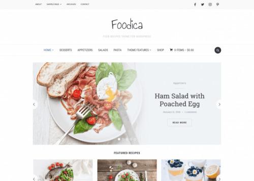 WPZOOM – Foodica