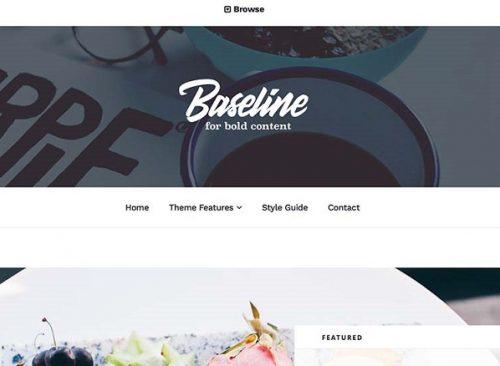 Array Themes – Baseline