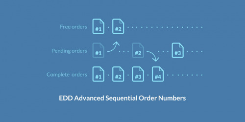 Easy Digital Downloads – Advanced Sequential Order Numbers