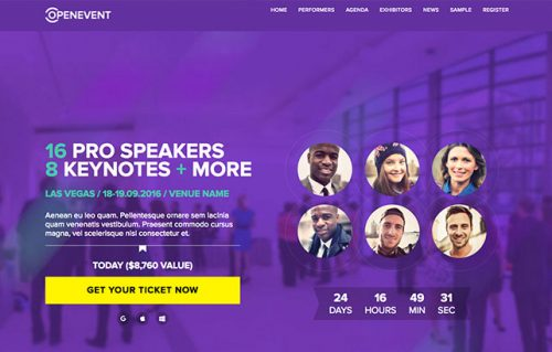 ShowThemes – OpenEvent