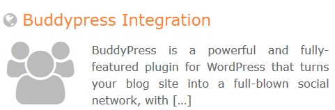 GeoDirectory – BuddyPress Integration