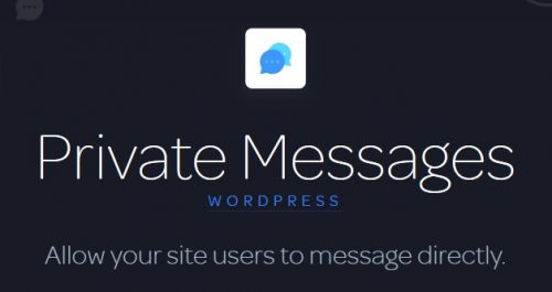 Private Messages by Astoundify