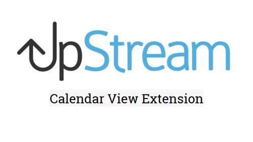 UpStream – Calendar View