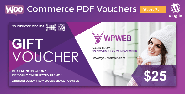 Nulled] WooCommerce PDF Vouchers - WordPress Plugin v3.9.5 - Null Club