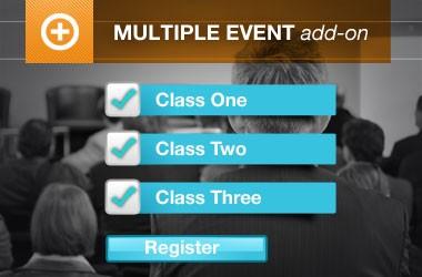 Event Espresso –  Multiple Event Registration