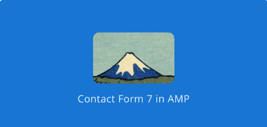 AMP – Contact Form 7