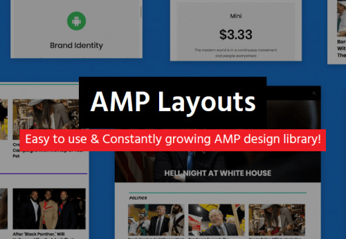 AMP – Layouts