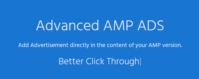 AMP – Advanced AMP ADS