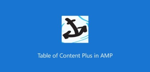 AMP – Table Of Content Plus