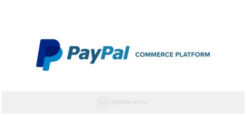 Gravity Forms – PayPal Commerce Platform Add-On