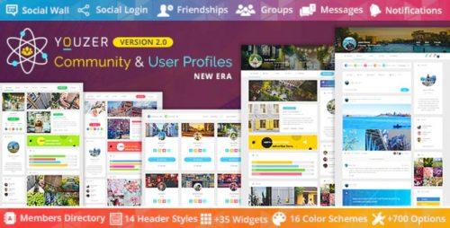 Youzer – Buddypress Community & WordPress User Profile Plugin