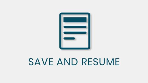 QSM – Save and Resume