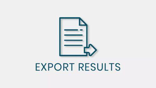 QSM – Export Results