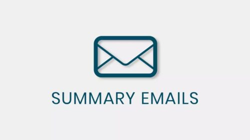QSM – Summary Emails