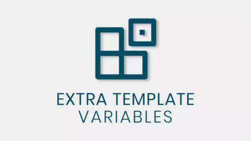 QSM – Extra Template Variables
