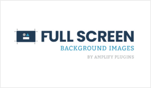 Full Screen Background Images Pro ( by Amplify Plugins...