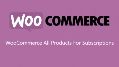 WooCommerce – All Products For Subscriptions