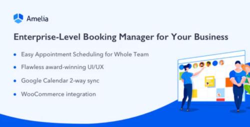 Amelia – Enterprise-Level Appointment Booking WordPress Plugin
