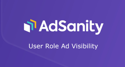 AdSanity – User Role Ad Visibility