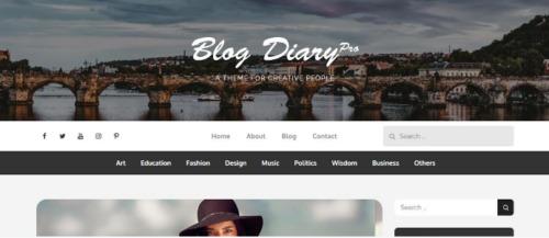 Theme Palace – Blog Diary Pro