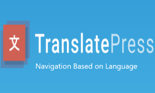 TranslatePress – Navigation Based on Language Add-on
