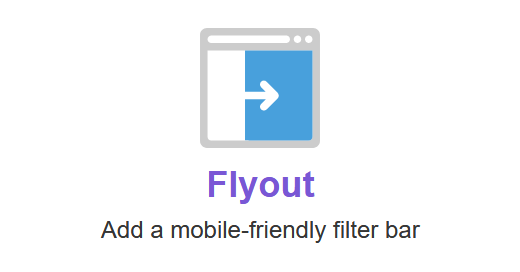 FacetWP – Flyout menu
