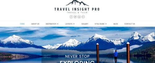 Theme Palace – Travel Insight Pro
