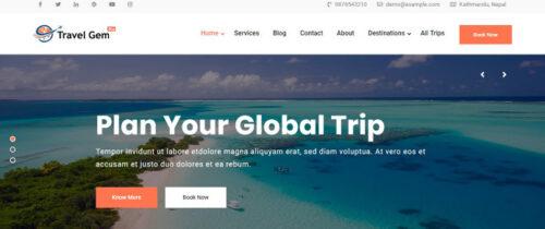 Theme Palace – Travel Gem Pro